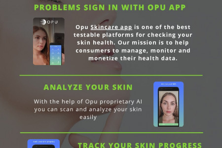 Scan your Skin with Top-Rated Skincare App Infographic