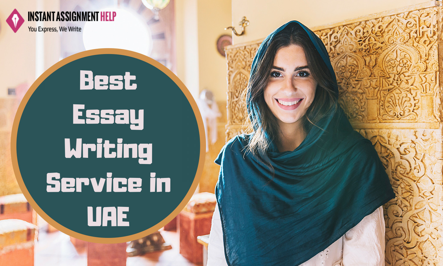 Score A+ Grade in Essay writing with Instant Assignment Help UAE Infographic