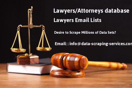 Scrape Lawyers, Attorneys, Law Firm from Directory Infographic