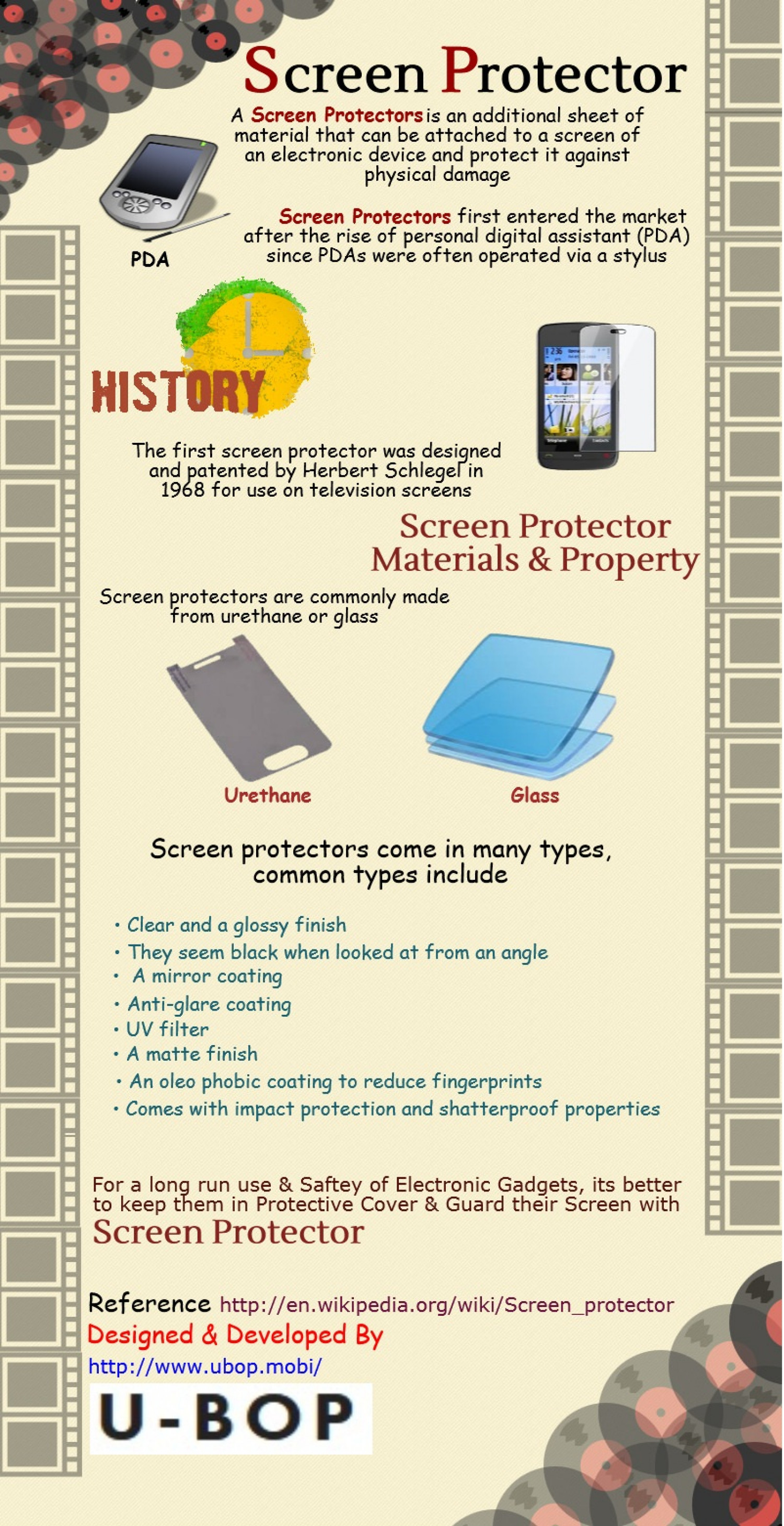 Screen Protector Infographic