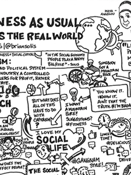 Brian Solis: Screw Business As Usual Infographic