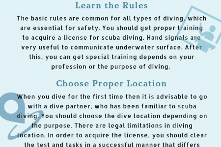 Scuba Diving – Tips and Tricks to Follow Infographic