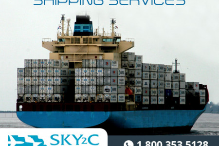 Sea Freight Shipping Services Infographic