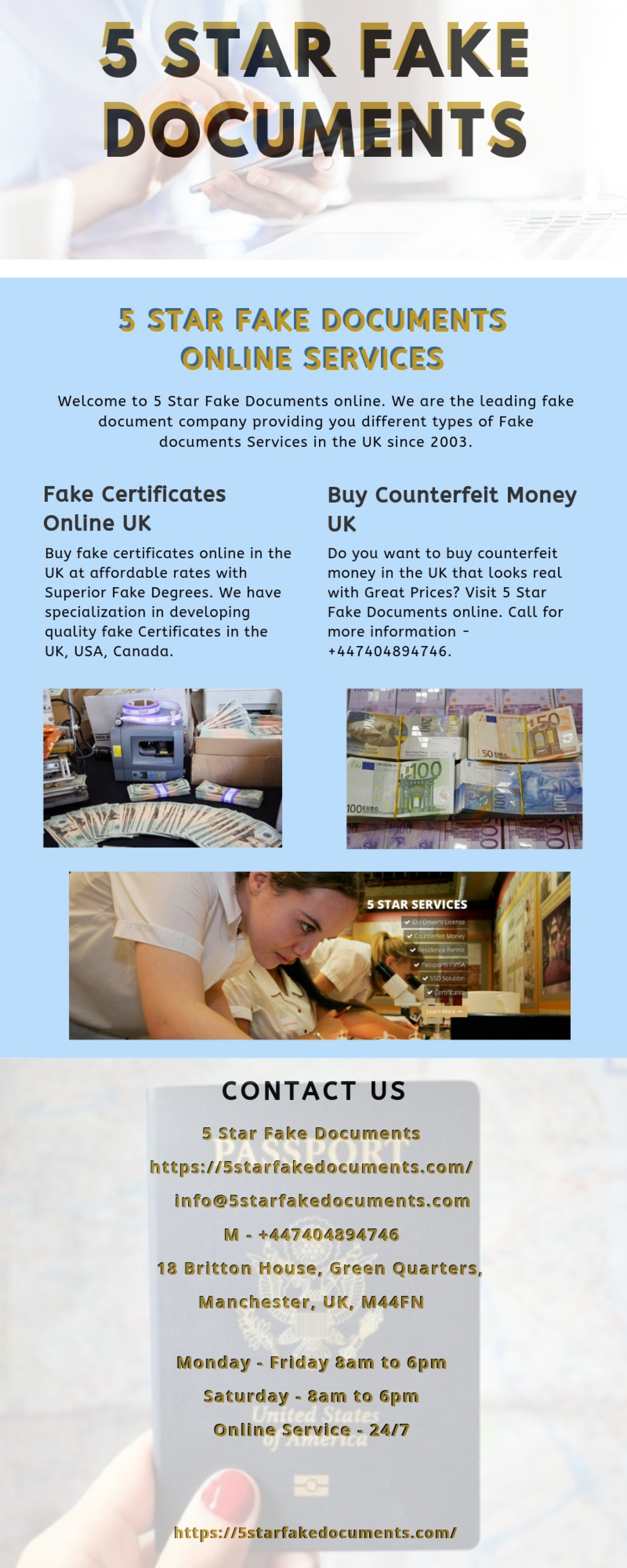 Sealing Criminal Records - 5 Star Fake Documents Infographic