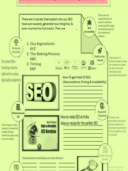 Search Engine Optimization - Improve your business Online Infographic