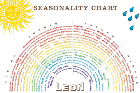 Seasonality Chart Infographic