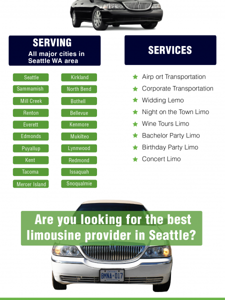 Seattle Town Car Service Provider Infographic