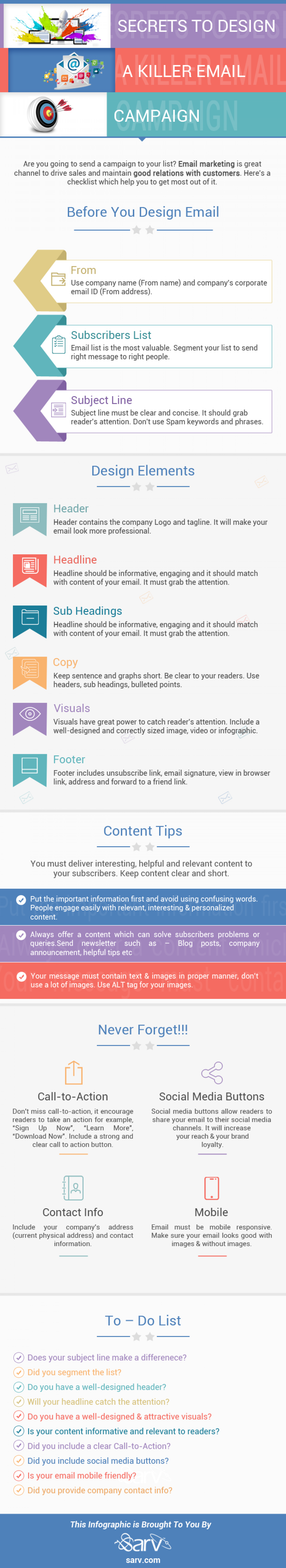Secrets To Design A Killer Email Campaign Infographic