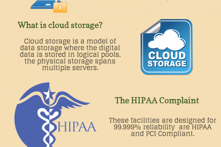 Secure Cloud File Sharing Service Infographic