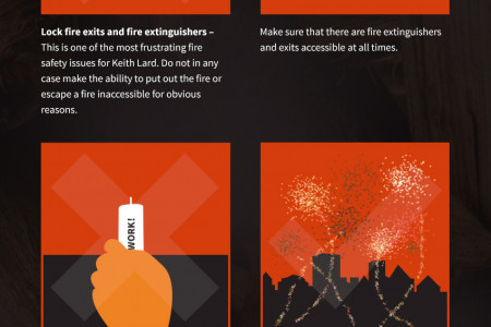 Secure your office this bonfire night Infographic