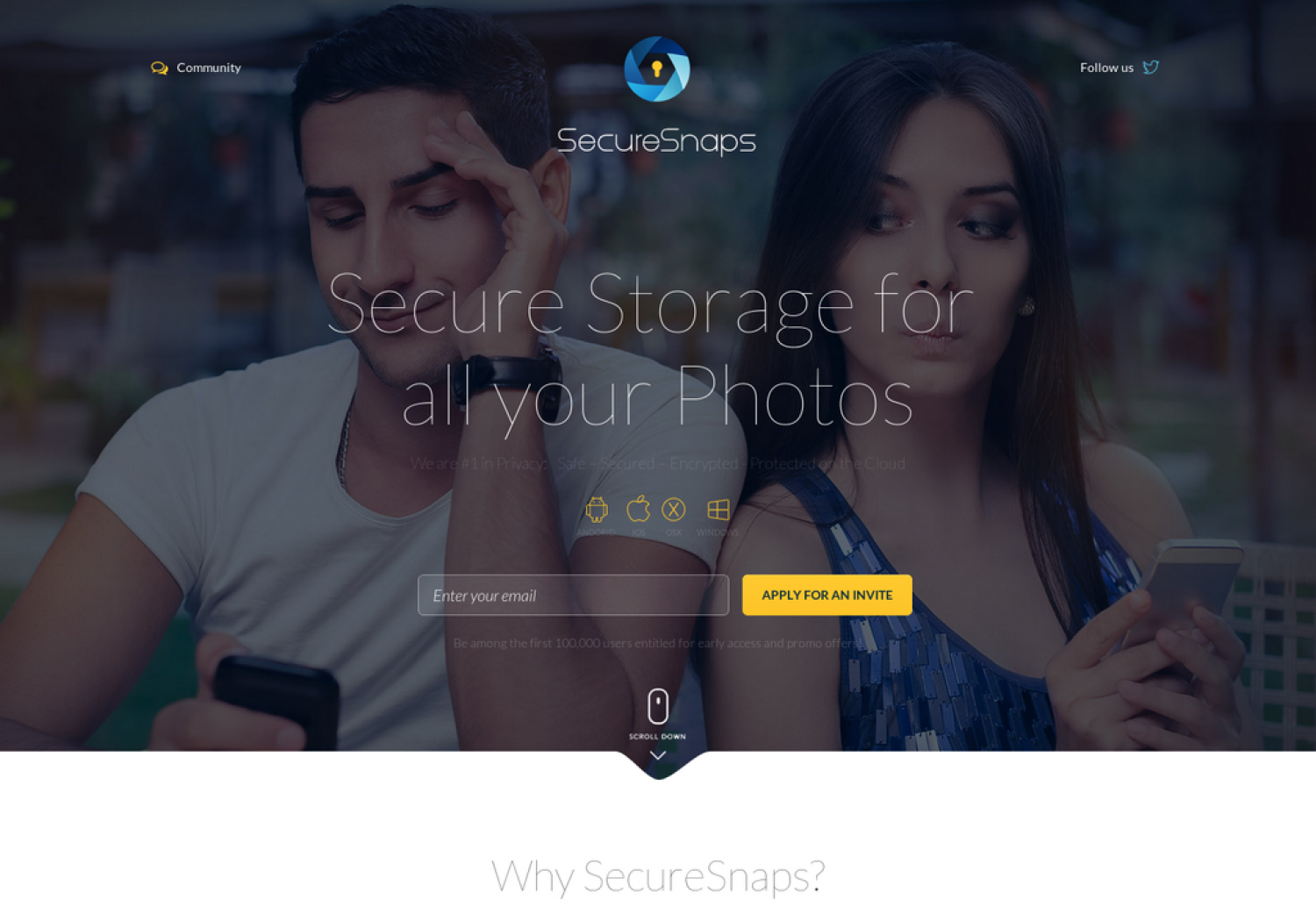 SecureSnaps  Infographic