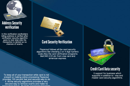 Security In Card not Present Fraud Infographic