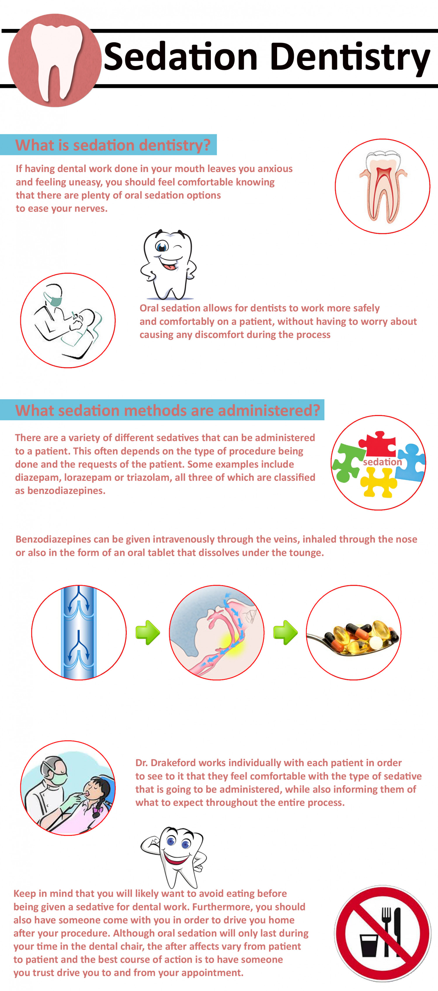 Sedation Dentistry Infographic