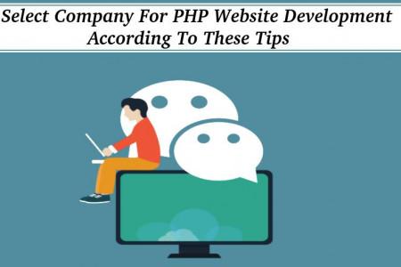 Select Company For PHP Website Development According To These Tips Infographic