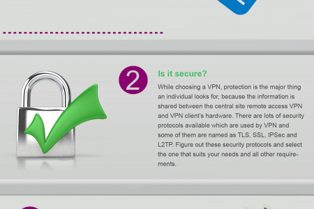 Selecting the Best VPN for your Online Safety Infographic