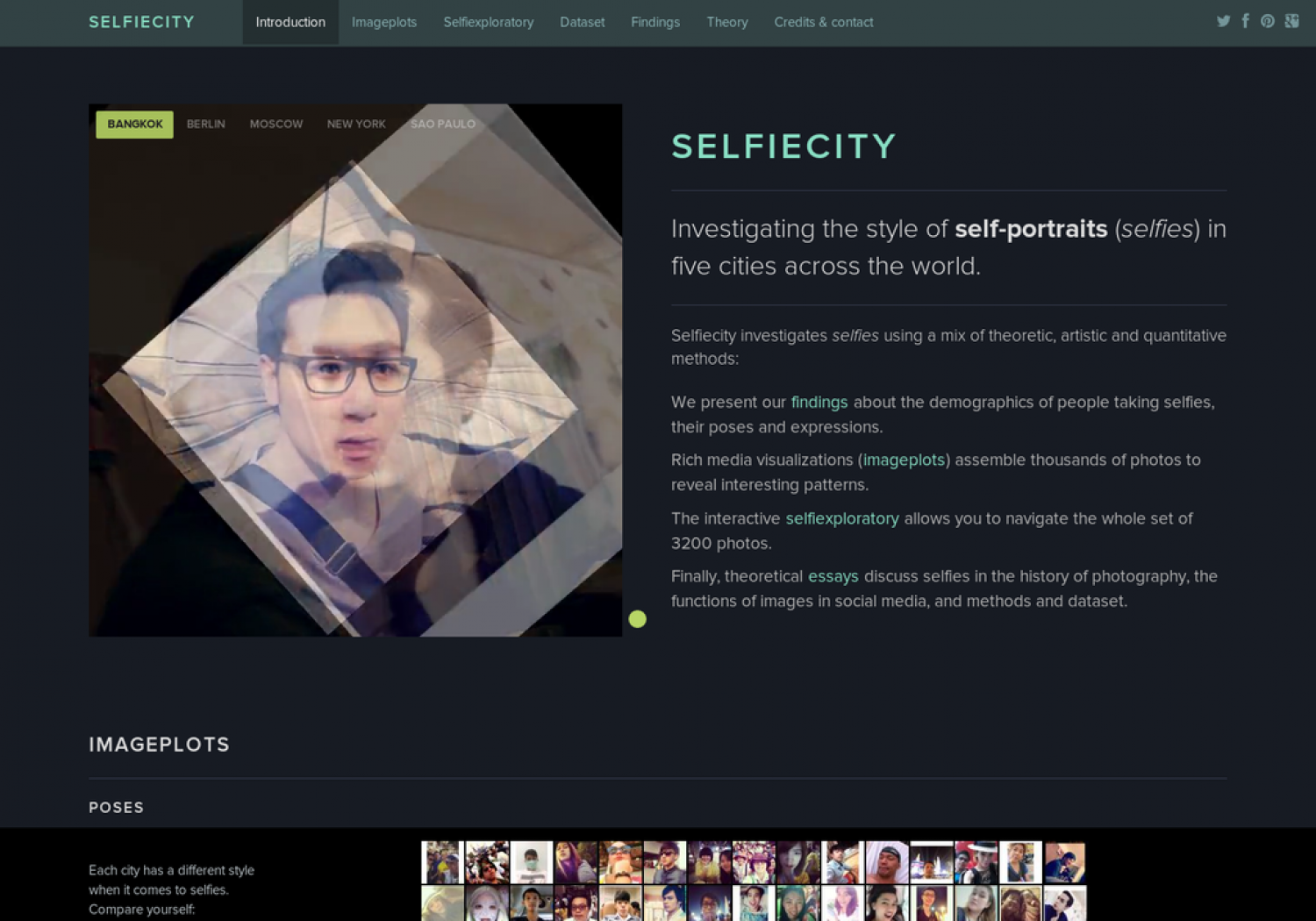 Selifie City Infographic