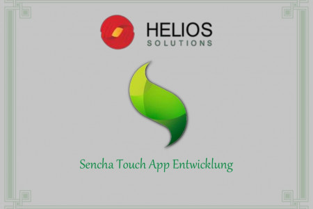 Sencha Touch App Entwicklung Infographic