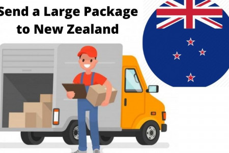 Send a large package to New Zealand Infographic
