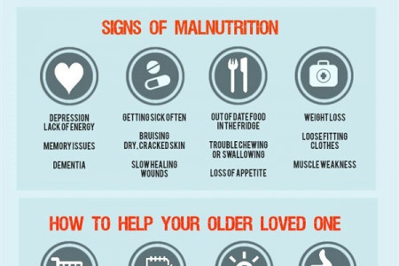 Senior Malnutrition Infographic