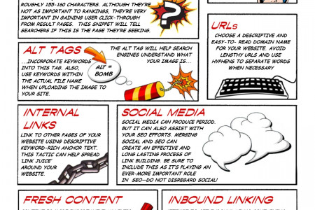 SEO Guide - Comic Book Edition! Infographic