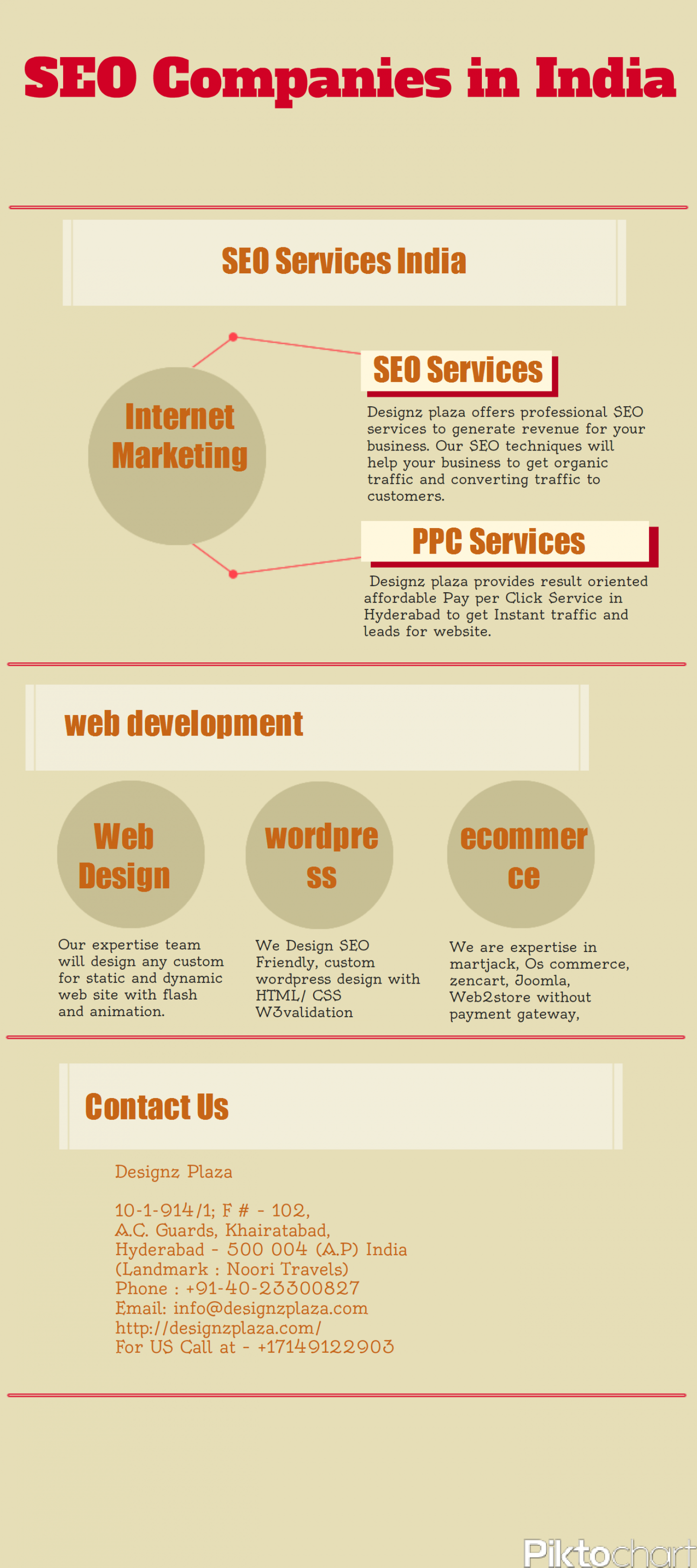 SEO Services India Infographic