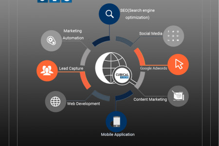 SEO Services To Grow Your Business Online Infographic