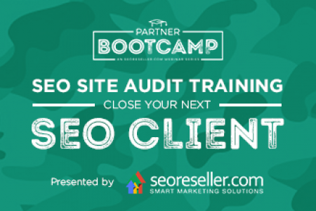 SEO Site Audit Training: Close Your Next SEO Client Infographic