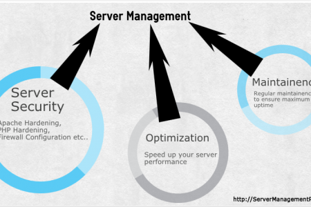 Server Management and Server Support Services - ServerManagementPlus Infographic
