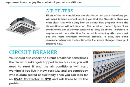 Services Of HVAC Repair In NYC Infographic