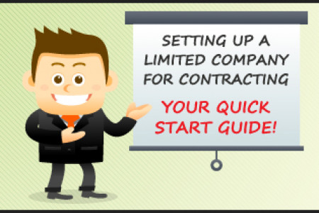 Setting Up a Limited Company for Contracting  - Quick Start Guide! Infographic