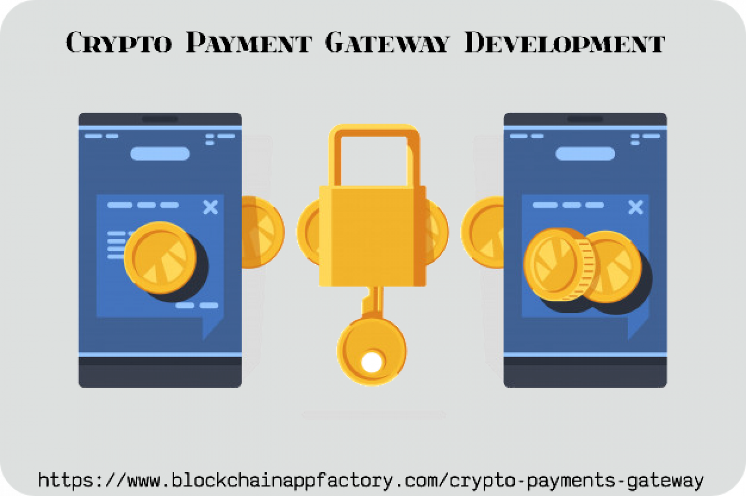 Settle transactions quickly through Crypto Payment Gateway Development Infographic