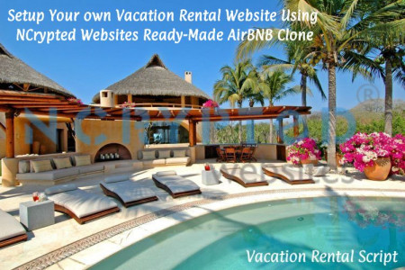 Setup Your own Vacation Rental Website Using NCrypted Websites Ready-Made AirBNB Clone Infographic