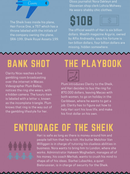 Shabby Chic amusement Infographic