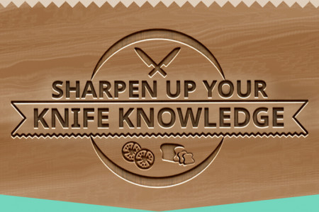 Sharpen Up Your Knife Knowledge Infographic