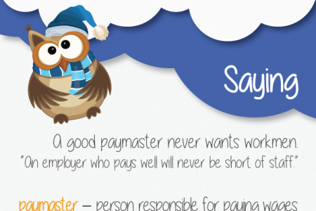 Shenker English Tips - Quotes, Sayings & Idioms Infographic