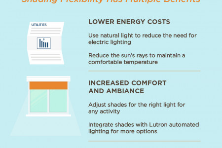 Shining a Light on Lutron Shading Solutions  Infographic