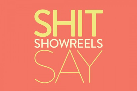 Shit Showreels Say Infographic