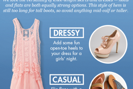 Shoes for Every Dress and Skirt Infographic