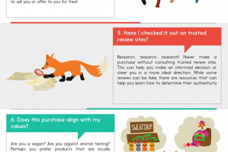 Shop Smart: 10 Questions to Ask Yourself Before Making a Purchase Infographic