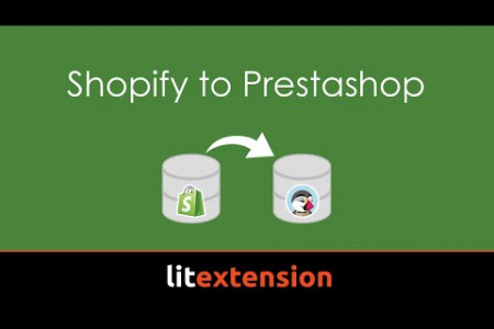 Shopify to Prestashop migration Infographic