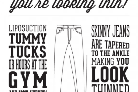Shopping for The Best Skinny Jeans Infographic