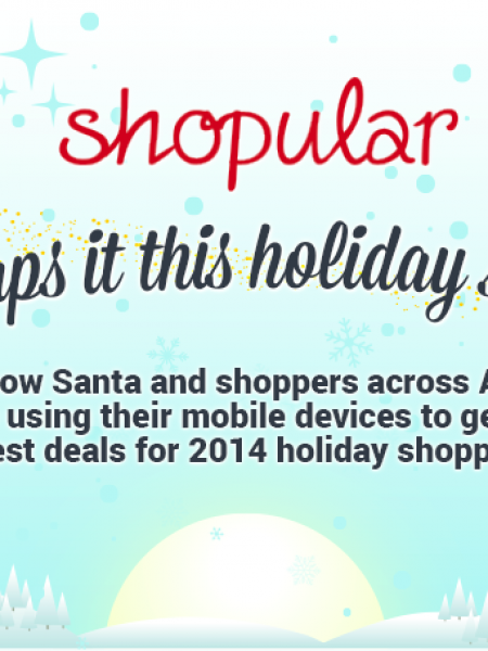 Shopular Unwraps It This Holiday Season Infographic