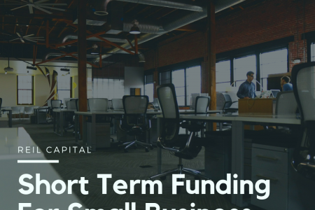 Short Term Funding For Small Business Infographic