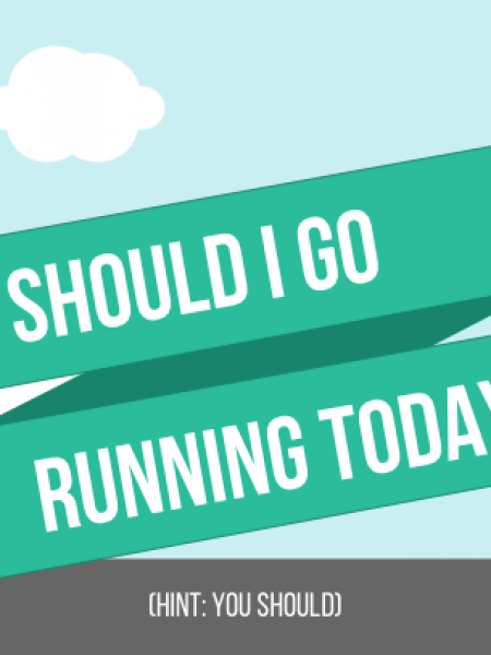 Should I go running today? Infographic