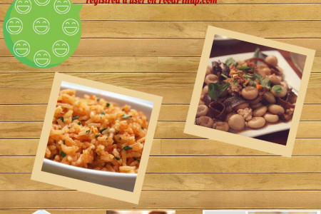 Showoff Your Recipes Dishes Cooking Ideas with World Infographic
