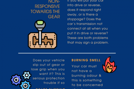 Signs of Automatic Transmission Problems Infographic