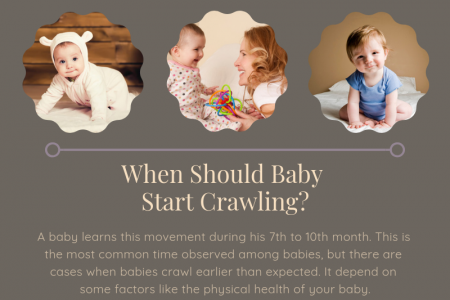 Signs that Show Baby is Ready to Crawl - Spec Kid Club Infographic