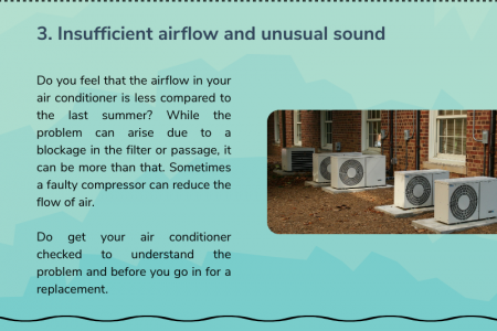 Signs that Show Your Air Conditioning Need a Replacement Infographic