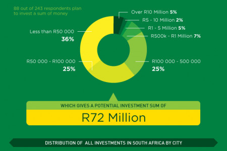 Silicon Cape Study: Funding and investments Infographic