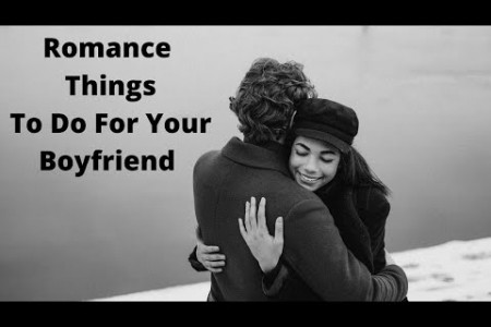 Simple romantic tips to use on your boyfriend Infographic